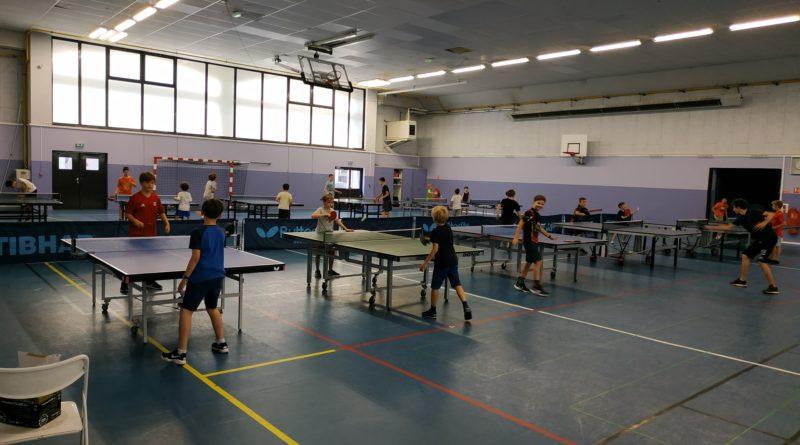 Premier stage Multi-activités de l'ASTT Lyon 6 – Quel succès !